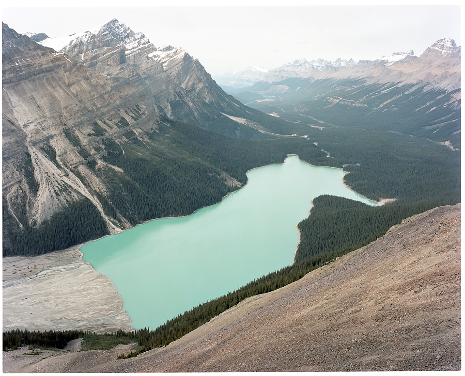 Peyto-Lake-Large-Format-Photograph